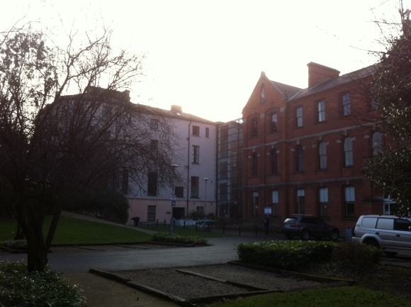 UCD, Blackrock campus. Had most of my classes in the building on the left.