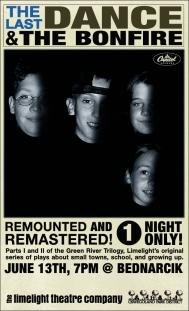 The Last Dance (remount poster). Designed by Dustin McNichols.