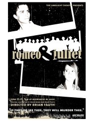 Romeo and Juliet, 2005. Poster designed by Dustin McNichols.