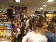 The midnight release for Harry Potter and the Deathly Hallows